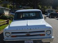 1968 Chevy Panel Truck. What a great truck this is. She