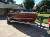 1968 Custom Hollywood Antique Wooden Boat Please