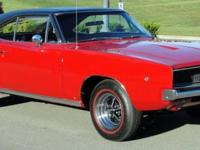 """STUNNING"", BESTS DESCRIBES THIS GORGEOUS 1968 DODGE"