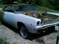 1968 Dodge Coronet 2dr hardtop project car for sale