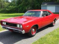 This HEMI Super Bee underwent a full restoration in