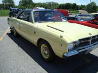 1968 Dodge Dart GTS 2DR HT Show Car Winner 14,000