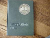 For sale is a like brand-new condition 1968 Dunbar High