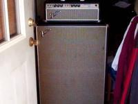 1968 Fender Silverface Bassman Amp. w/Drip Edge.