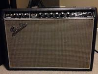 This Fender deluxe reverb amp has actually been