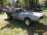 1968 FIREBIRD ROLLER CHASSIS 400,4 SPEED, DISC