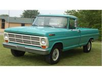 1968 Ford F-100 Pickup Truck, Longbed. This is a