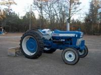 1968 Ford 4000 Tractor-Restored, New