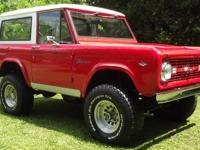 1968 Ford Bronco 4WD One of The Nicest Vintage Ford