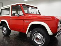 1968 Ford Bronco  DETAILS	 Year:1968 Make:Ford
