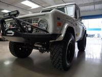 1968 Ford Bronco Half Cab Pick Up with a 347 Hi Po V8