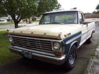 I have a 1968 Ford F100 Ranger Edition 3speed on the