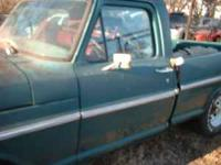 We have here a nice 1968 F100 ford pick up truck for