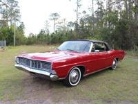 1968 Ford Galaxie 500 XL Convertible 390 V8 Candy Apple