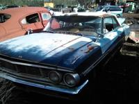 1968 Ford Galaxy 500 the body and frame is in great