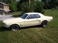 1968 Ford Mustang American Classic 390 S code, V8