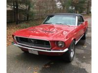 Year: 1968 Make: Ford Model: Mustang Exterior Color: