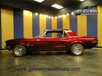 1968 Ford Mustang coupe with a 289 CID V8 and C4