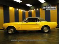 1968 Ford Mustang Coupe for sale. This Mustang is ready