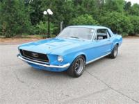 Coming in is this stunning 1968 Ford Mustang Coupe