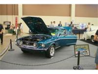 1968 Mustang GT 2+2 Fastback that is finished in