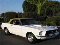 1968 Ford Mustang originally a J Code convertible that