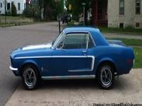 Make:  Ford Model:  Mustang Year:  1968
