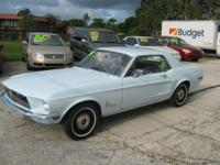 1968 FORD MUSTANG MATCHING NUMBERS CAR 1 OWNER ORIGINAL