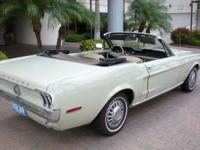 1968 Convertible Mustang Easter Color Collection