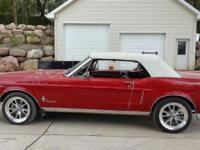 1968 Ford Mustang Convertible ..Beautiful Car