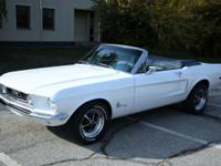 1968 Ford Mustang Convertible 428 cui Cobra Jet, 4sp