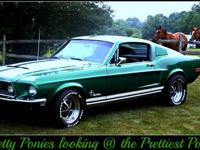 1968 Mustang Fastback. Ram air w/worked 351 Windsor, C4