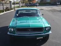 WONDERFULLY RESTORED 1968 FORD MUSTANG   This car is an