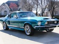 1968 Ford Mustang Fastback  GT-500  DuPont Hot Hues