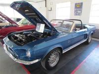 Fresh concours restoration of a Shelby icon, the 1968