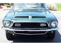 This 1968 Shelby GT500 is a newlyrestored highland
