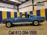 This is a REAL 1968 Ford Mustang Shelby GT500 with the