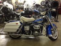 1968 Harley Davidson Electra Glide Vintage, Engine: