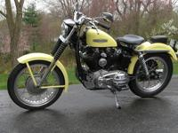 this clean, nicely detailed 1968 XLCH Sportster. It's