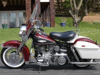 Brought back 1968 Harley Davidson FLHThis bike was