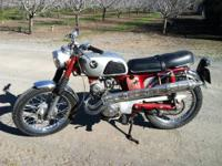 Rare 1968 honda cl-125 twin. Only 3000 made because