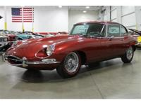 We are honored to offer this rare, classic Jaguar for