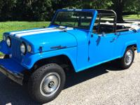 This is a 1969 Jeep Commando Convertible. This is a