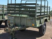 1968 Johnson Military Trailer, Stock Number HE 2788.