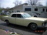 1968 Lincoln Continental American Classic Third owner 4