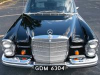 1968 Mercedes Benz 250S. Driven weekly. Looks and