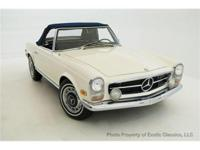 1968 MERCEDES BENZ 250 SL CONVERTIBLE THE 250 SL WAS
