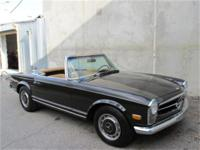 1968 Mercedes Benz 280SL with 2 tops This is a, 1968