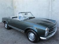 1968 Mercedes Benz 280SL - European Version 1968
