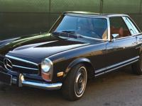 1968 Mercedes-Benz 280SL Coupe model with only 52K